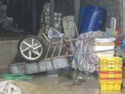 Tin tức Việt Nam - Cụ ông 70 tuổi bị điện giật chết trong lúc sửa xe