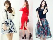Váy - Đầm - Chọn chân váy cho mọi dáng người