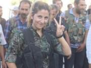 """Tin tức trong ngày - Sự thật về """"thiên thần Kobani"""" giết 100 phiến quân IS"""