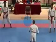 Thể thao - Clip: Võ sĩ Karate cụt tay cụt chân vẫn hạ knock-out 2 đối thủ to cao