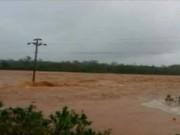 Video An ninh - Quảng Ninh: Vỡ đập, nhiều khu phố chìm trong nước
