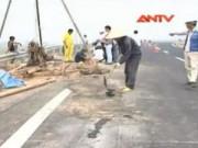 Video An ninh - Công khai nguyên nhân vết nứt cao tốc Nội Bài - Lào Cai