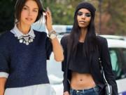 Thời trang bốn mùa - Ngày lạnh, đừng vội cất tủ chiếc áo hở eo!