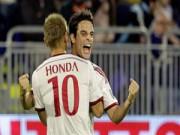 Bóng đá Ý - Siêu phẩm sút xa sao Milan top 5 Serie A V9
