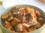Ẩm thực - Cá kho chuối xanh, món ngon dân dã