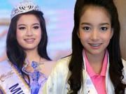 Người mẫu - Hoa hậu - Thái Lan: Nữ sinh đeo niềng răng đăng quang Hoa khôi