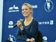 Tin bên lề thể thao - Người đẹp Wozniacki gây ấn tượng ở giải marathon