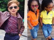 Bí quyết mặc đẹp - 7 nhóc tì gây chú ý vì ăn mặc sành điệu