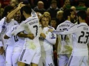 Bóng đá Tây Ban Nha - Real lên ngôi đầu Liga: Cơn cuồng phong màu trắng