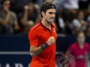 Tennis - Federer không coi ngôi số 1 thế giới là mục tiêu chính