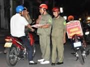 An ninh Xã hội - Đóng giả bảo vệ dân phố để chặn xe, chiếm đoạt tài sản