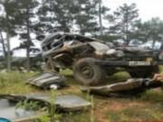 Camera hành trình - Lâm Đồng: Xe lao xuống vực, 7 người thương vong