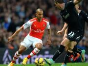 Cup C1 - Champions League - Arsenal: Walcott và sự trở lại của lối chơi tập thể