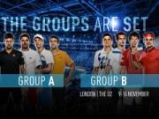 Thể thao - Chia bảng World Tour Finals 2014: Quần long tranh bá