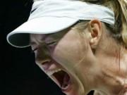 """Tennis - """"Bí mật"""" về nỗi sợ hãi của Sharapova"""