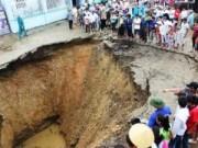"""Tin tức trong ngày - Từ """"hố tử thần"""" ở Thanh Hóa phát hiện hang động caster"""