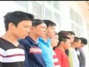 Video An ninh - Nhóm côn đồ hỗn chiến, đập phá náo loạn vùng quê