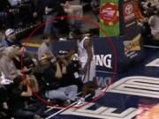 Các môn thể thao khác - Ức chế vì bị thổi phạt, VĐV bóng rổ tát phóng viên