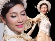 Người mẫu - Hoa hậu - Đặng Thu Thảo diễn áo dài 5 tỷ tại Miss International