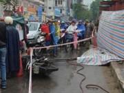 Tin tức Việt Nam - Rơi thép ở đường sắt trên cao HN, người đi đường tử nạn