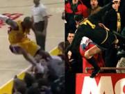 Các môn thể thao khác - Kobe Bryant suýt lặp lại cú đạp khán giả như Cantona