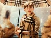 Thế giới thời trang - Con trai Beckham bảnh bao trong phim ngắn của Burberry