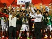 Bóng đá Việt Nam - Bầu Đức đôn cầu thủ Học viện HAGL JMG đá V.League: Bài học Tiền Giang 2006