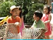 Hậu trường phim - Các con của Phan Anh, Hoàng Bách đi…xin ăn