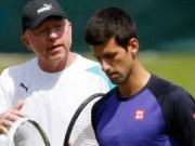 """Thể thao - Gắn kết Boris Becker, Djokovic nuôi mộng """"bá chủ"""""""