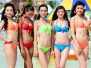 """Người mẫu - Hoa hậu - Ứng viên HHVN diện bikini """"đốt nóng"""" biển Bạc Liêu"""