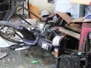 Tin tức trong ngày - Xưởng sửa xe tan hoang sau vụ nổ bình hơi