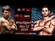 Thể thao - Pacquiao cảnh giác trước Algieri trẻ tuổi hơn