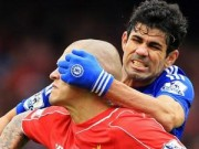 Bóng đá - Bị kéo rách áo, Costa vẫn chiến đấu máu lửa