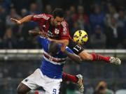 Bóng đá - Sampdoria - AC Milan: Cân não đến phút cuối