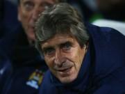 Bóng đá - Thoát thua, Pellegrini vẫn không bận tâm Chelsea