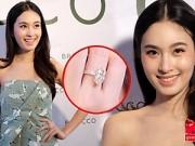 Thời trang - Nong Poy khoe nhẫn kim cương do bạn trai tặng