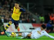 Bóng đá - Swansea - Arsenal: 3 phút và 2 gáo nước lạnh