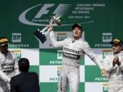 Thể thao - BXH Brazilian GP 2014: Cơ hội tràn trề cho Rosberg