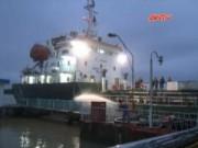 Bản tin 113 - Hải Phòng: Cháy tàu chở nhựa đường 3000 tấn