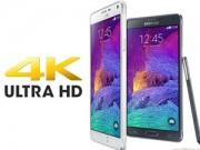 """Lộ Samsung Galaxy Note 5 có màn hình siêu  """" khủng """"  4K"""