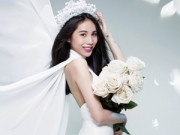 Ca nhạc - MTV - Thủy Tiên tung ảnh cô dâu úp mở đám cưới