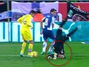 Bóng đá - Ngã gãy cổ, thủ môn Villarreal vẫn chơi hết trận