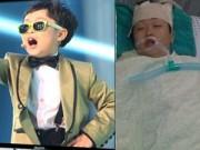 Psy nhí  bị u não khiến hàng triệu fan xót xa