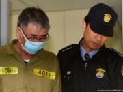 Thuyền trưởng phà Sewol chờ đợi án tử