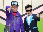 Bé lai Việt Hàn tới động viên  Psy nhí  mắc u não