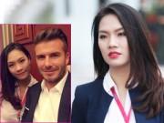 Cuộc sống - Vẻ đẹp thanh lịch của cô gái chụp ảnh cùng Beckham