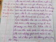 Giáo dục - du học - Bài văn cảm động của cậu bé lớp 2