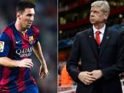 Bóng đá - Arsenal từng mua hụt Messi chỉ vì thói keo kiệt