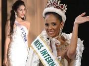 Thời trang - Miss International: Đặng Thu Thảo ra về trắng tay!