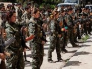 Tin tức trong ngày - Nữ binh nước ngoài đầu tiên ra trận chống IS
